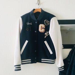 Authentic Coach varsity jacket size medium